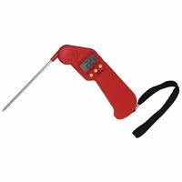 Hygiplas Easytemp Colour Coded Red Thermometer CF913