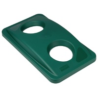 Rubbermaid Slim Jim Green Bottle Lid F636