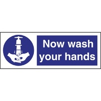 Vogue Wash Your Hands Symbol Sign L957