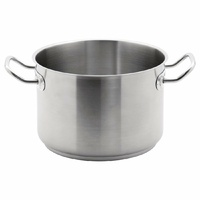 Vogue Stainless Steel Stew pan 7Ltr
