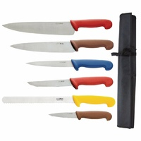 Hygiplas Colour Coded Chefs Knife Set  S088