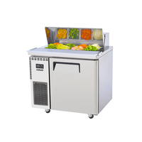 Skipio 900mm Salad Prep Table With Hood Lid SHR9-1