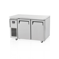 Skipio 2 Door Stainless Steel Underbench Freezer SUF12-2