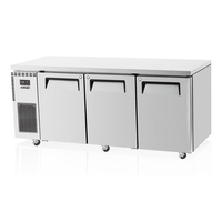 Skipio 3 Door Stainless Steel Underbench Freezer SUF18-3