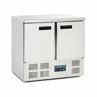 Polar G-Series Double Door Counter Fridge 240Ltr U636-A